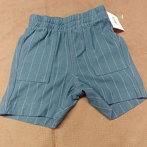 Infant Boys Shorts by Tea Collection. Blue